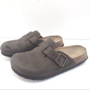BIRKENSTOCK Licensed BETULA Clog-Leather-Brown-5.5